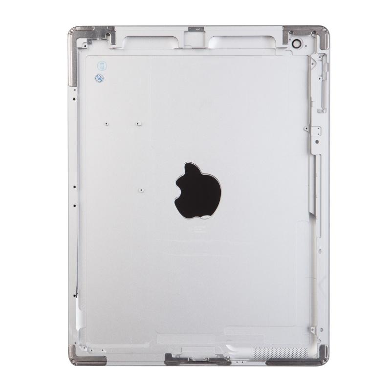 Zadní kryt pro Apple iPad 2 Wifi, stříbrný