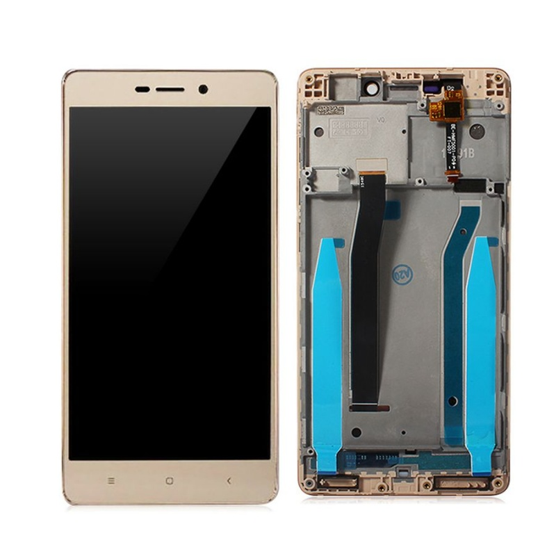 Xiaomi Redmi 3 Pro LCD displej + dotyk + rám Gold