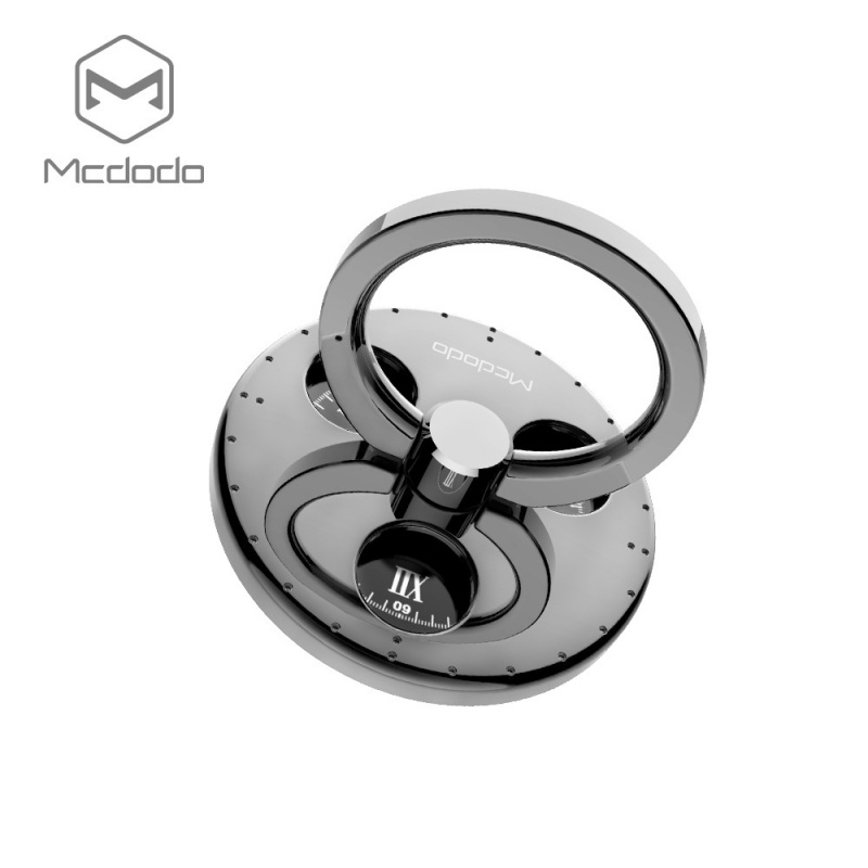 Mcdodo 360 Degree Rotating Fidget Spinner Ring Silver