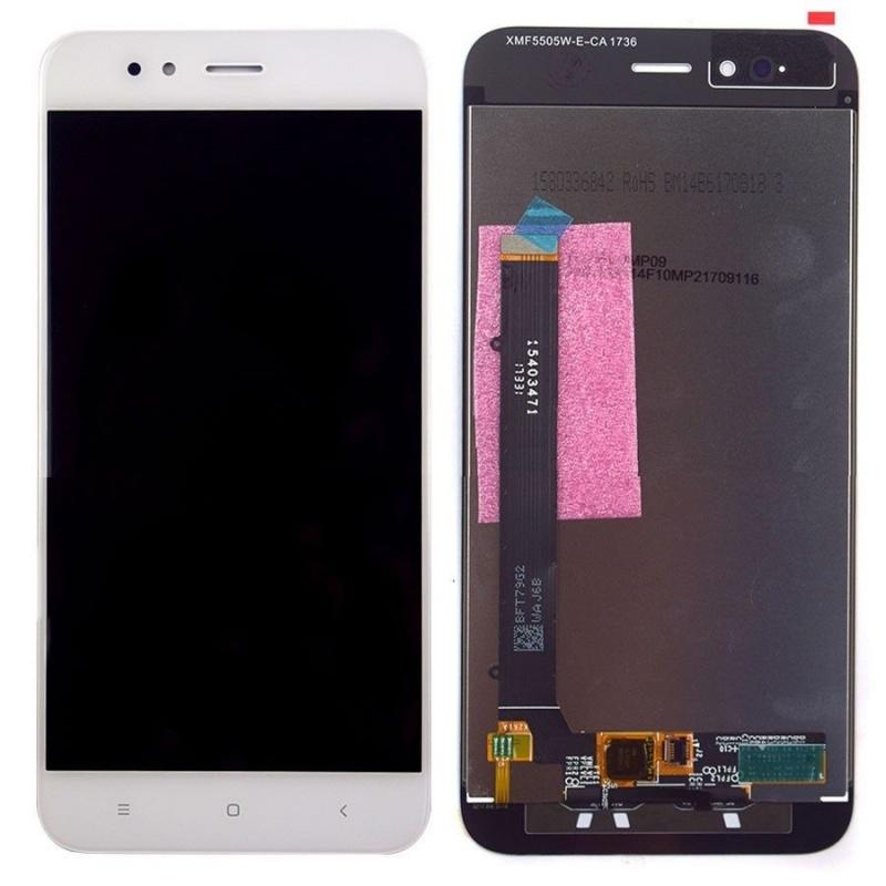 LCD + dotyk pro Xiaomi Mi A1, bílý