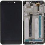 LCD + Touch + Frame (Assembled) pro Xiaomi Redmi 4A Black (OEM)