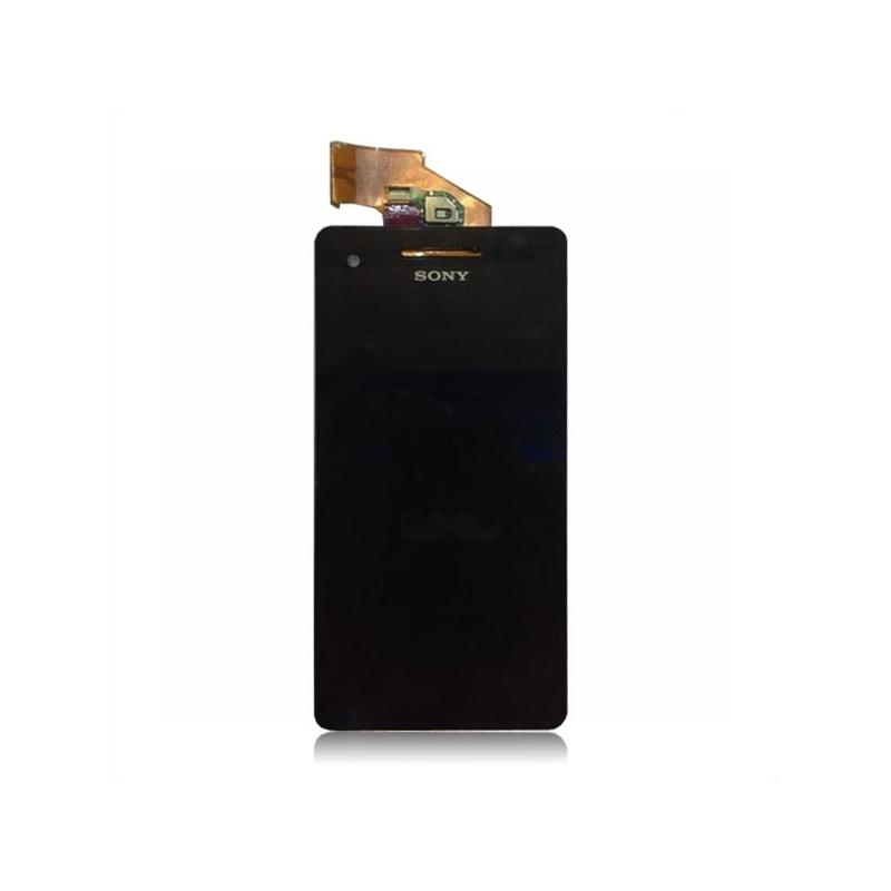 Sony Xperia V LCD displej + dotyk + rám White
