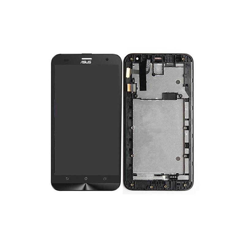 Asus Zenfone 2 Laser (ZE550KL) LCD displej + dotyk + rám Black