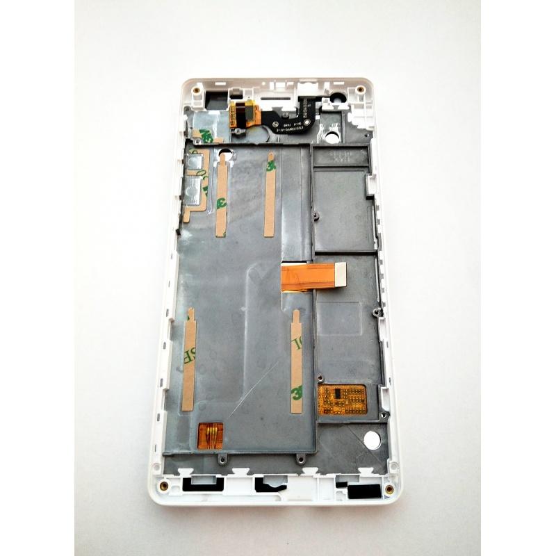ZOPO ZP720 LCD displej + dotyk + rám White