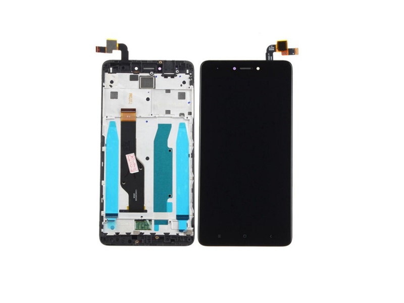 Xiaomi Redmi Note 4 / 4X (Qualcomm/Global) LCD + Touch + Frame (Assembled) - Black (OEM)