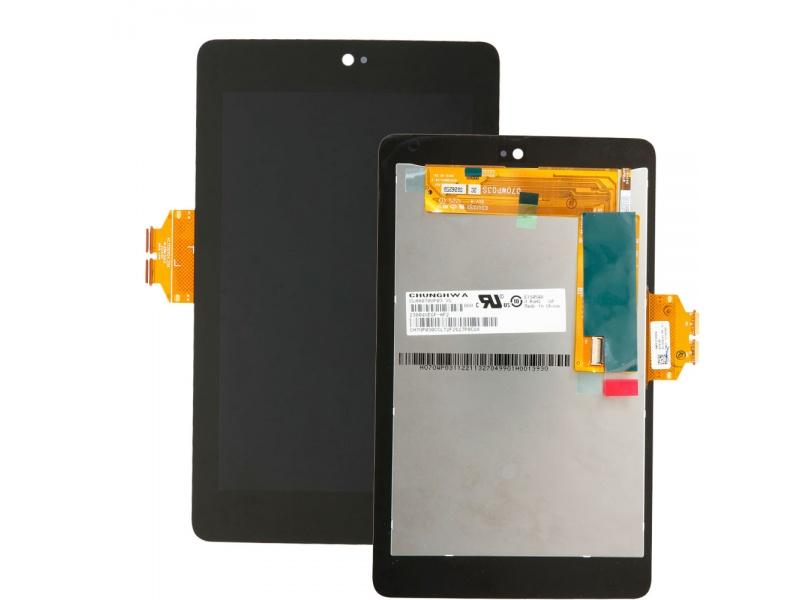 LCD + Touch + Frame (Assembled) pro Asus Nexus 7 1. Generace Black (OEM)