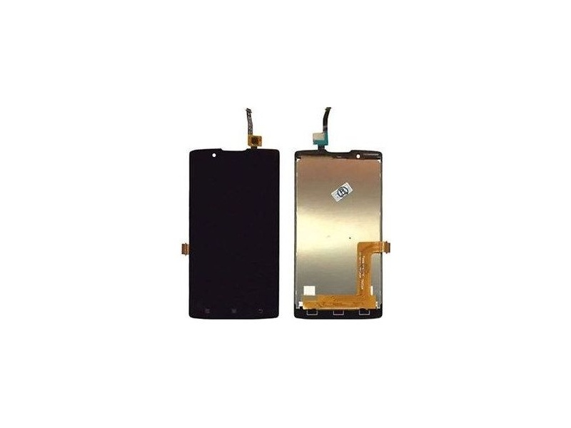 LCD + Touch + Frame (Assembled) pro Lenovo A2010 Black (OEM)