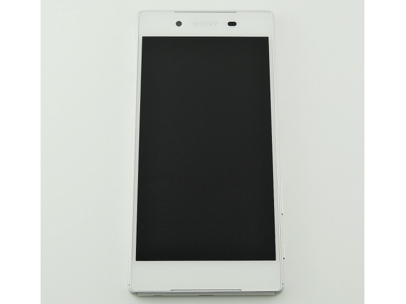 LCD + Touch + Frame (Assembled) pro Sony Xperia Z5 Dual (E6633) White (OEM)