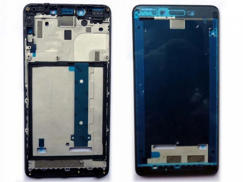 Xiaomi Redmi Note 2 Front Frame - Black (OEM)
