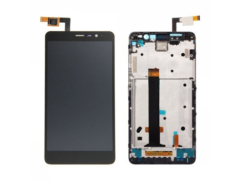 Xiaomi Redmi 3 LCD + Touch + Frame (Assembled) - Black (OEM)