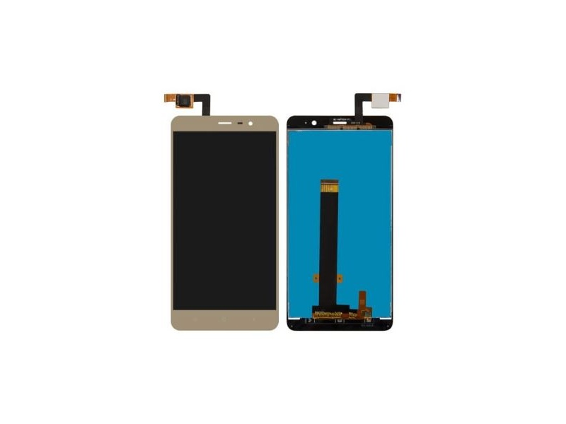 Xiaomi Redmi Note 3 LCD + Touch + Frame (Separated) - Gold (OEM)