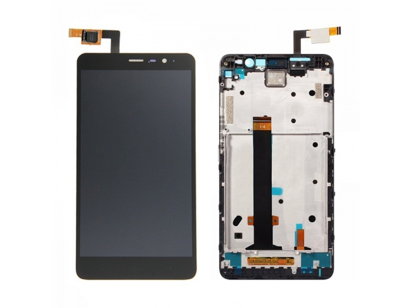 Xiaomi Redmi Note 3 PRO LCD + Touch + Frame (Separated) - Black (OEM)