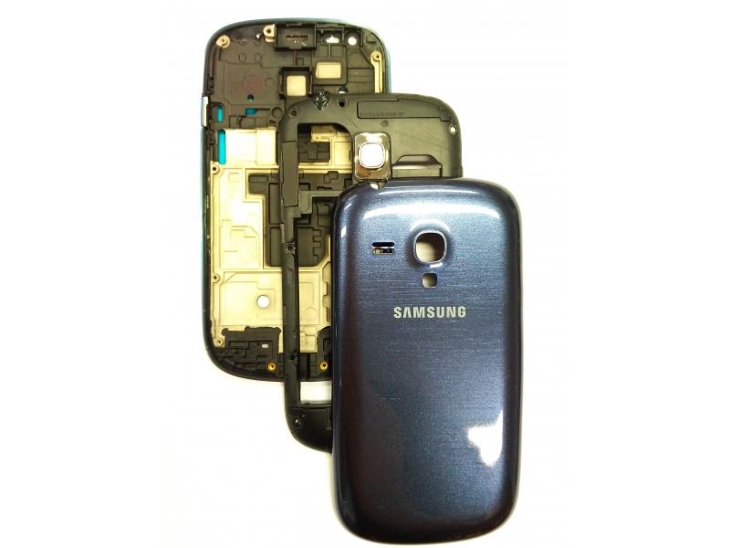 Back Cover pro Samsung Galaxy S3 Mini (i8200) Blue (OEM)