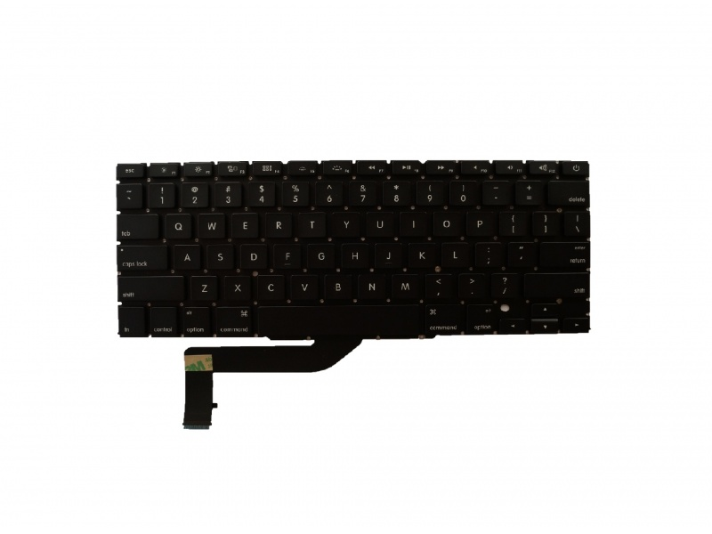 Keyboard US Type (- Shape Enter) pro Apple Macbook A1398 2012-2015