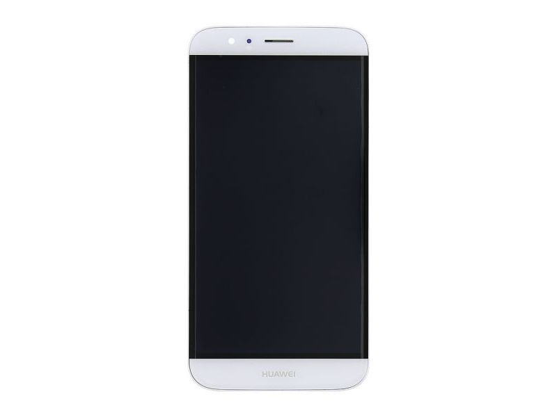 LCD + Touch + Frame (Assembled) pro Huawei G8 - White (OEM)