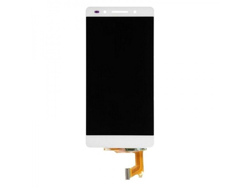 LCD + Touch + Frame (Assembled) pro Huawei Honor 7 - White (OEM)