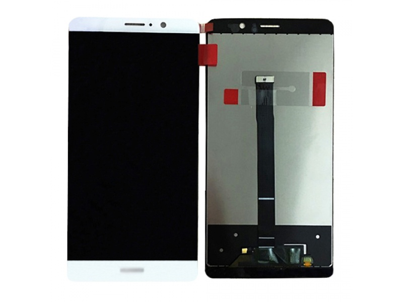 LCD + Touch + Frame (Assembled) pro Huawei Mate 9 - White (OEM)