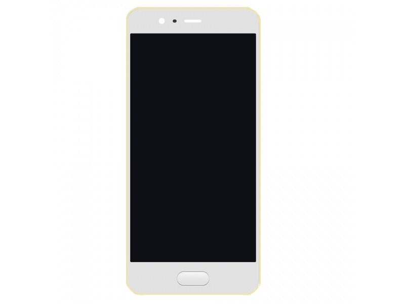 LCD + Touch + Frame (Assembled) pro Huawei P10 - Gold (OEM)