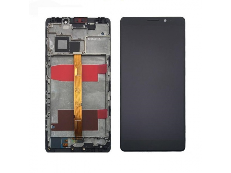 LCD + Touch + Frame (Assembled) pro Huawei Mate 8 - Black (OEM)