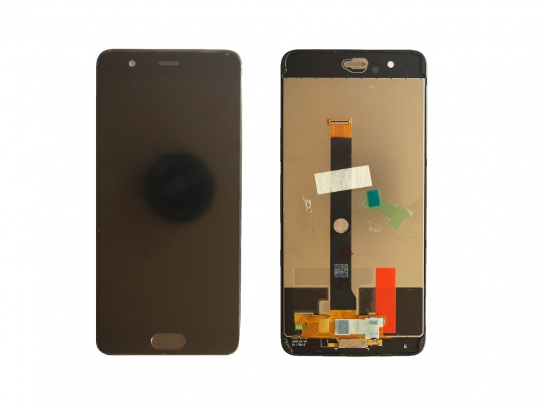 LCD + Touch + Frame (Assembled) pro Huawei P10 Plus - Black (OEM)