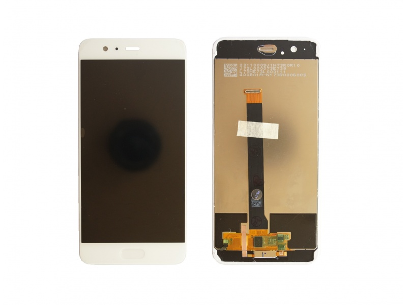 LCD + Touch + Frame (Assembled) pro Huawei P10 Plus - Gold (OEM)