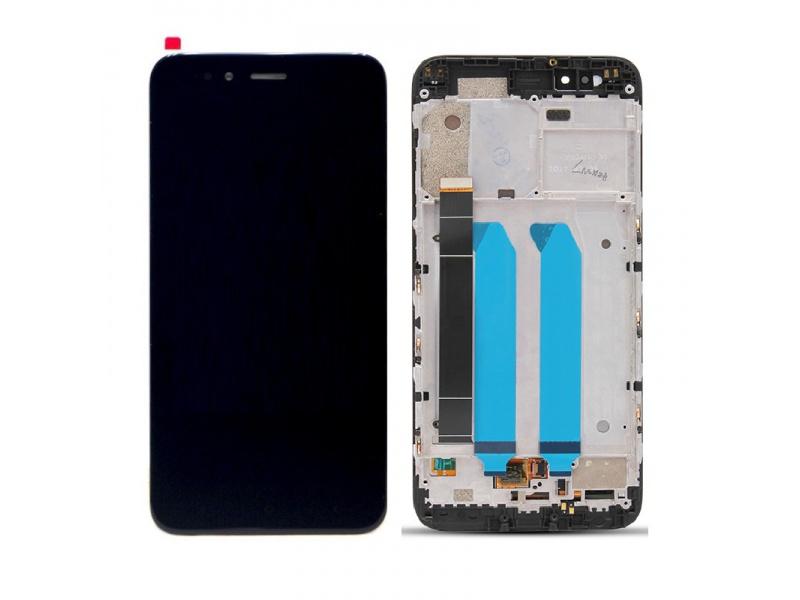 Xiaomi Mi A1 LCD + Touch + Frame (Assembled) - Black (OEM)