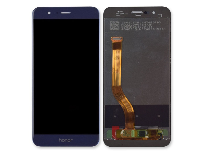 LCD + Touch (Assembled) pro Huawei Honor 8 PRO - Blue (OEM)