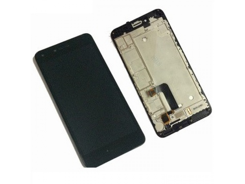 LCD + Touch + Frame (Assembled) pro Huawei Y5 II - Black (OEM)
