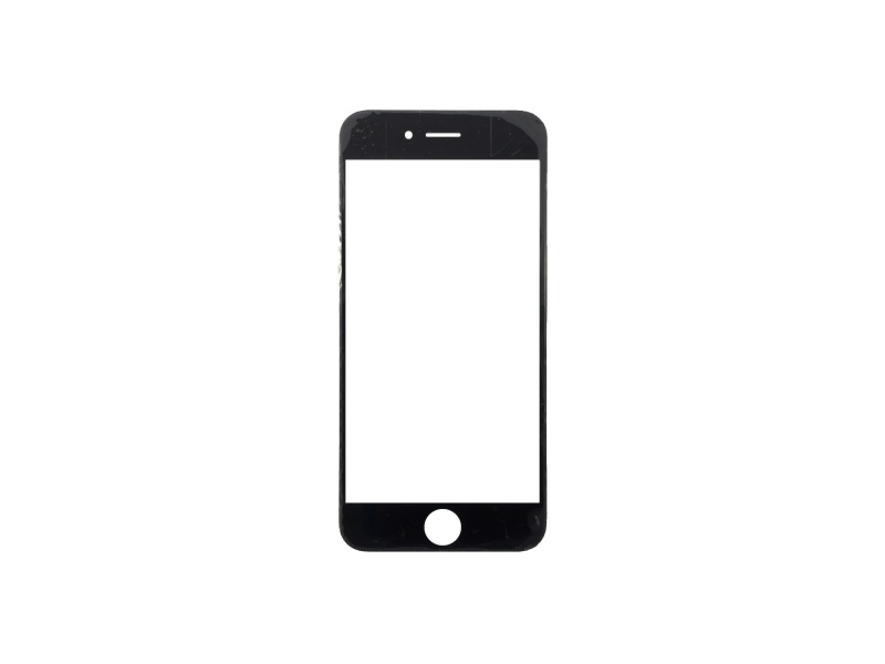Front Black LCD glass (Without OCA / Without Frame) for iPhone 6 - 10PCS/Set