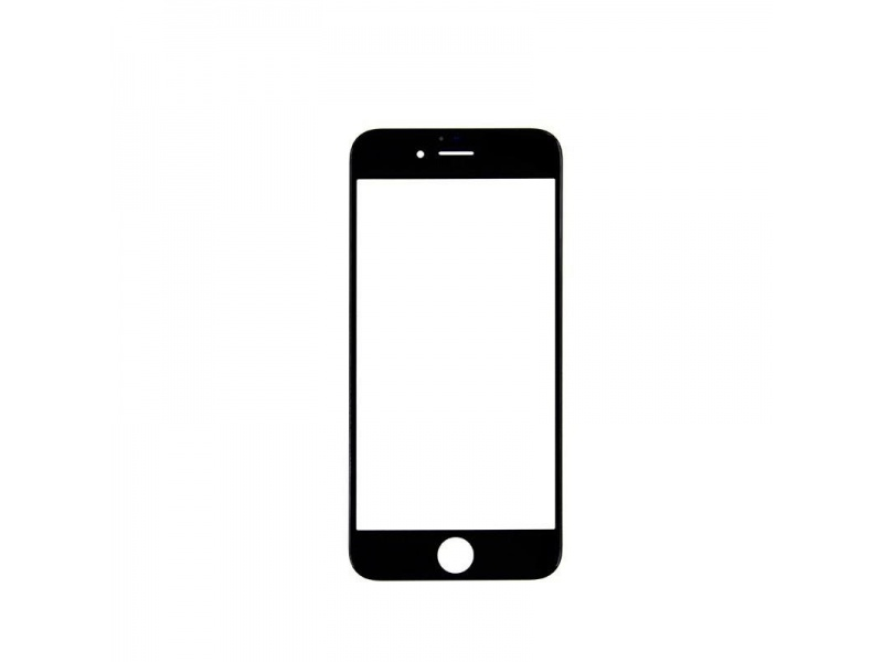 Front Black LCD glass (Without OCA / Without Frame) for iPhone 6S - 10PCS/Set