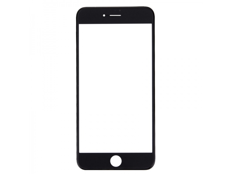 Front Black LCD glass (Without OCA / Without Frame) for iPhone 7 Plus - 10PCS/Set
