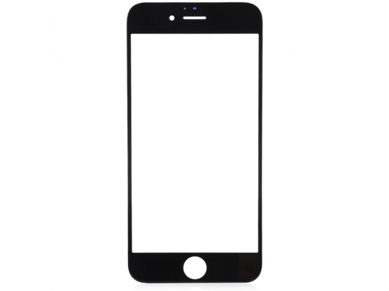 Front Black LCD glass (Without OCA / Without Frame) for iPhone 8 Plus - 10PCS/Set
