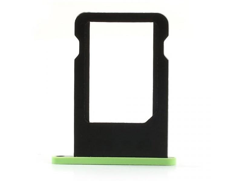 SIM Card Tray Green pro Apple iPhone 5C