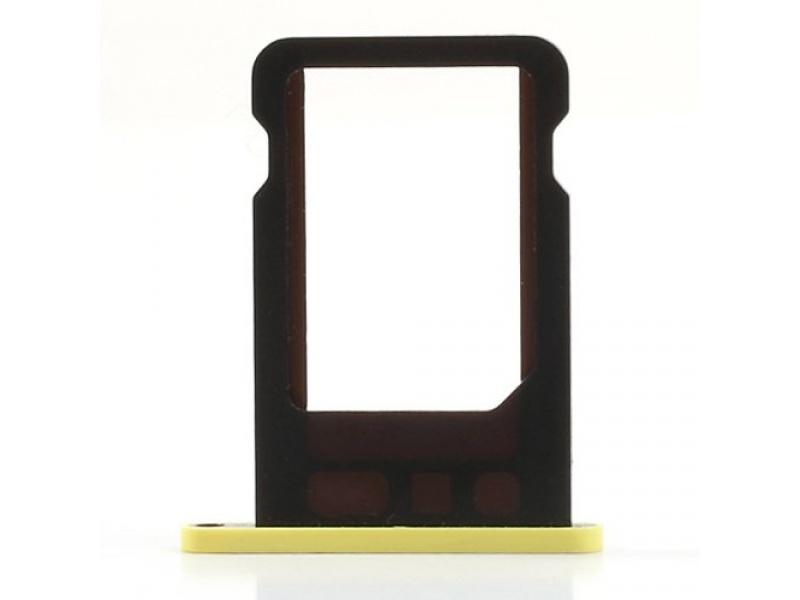 SIM Card Tray Yellow pro Apple iPhone 5C