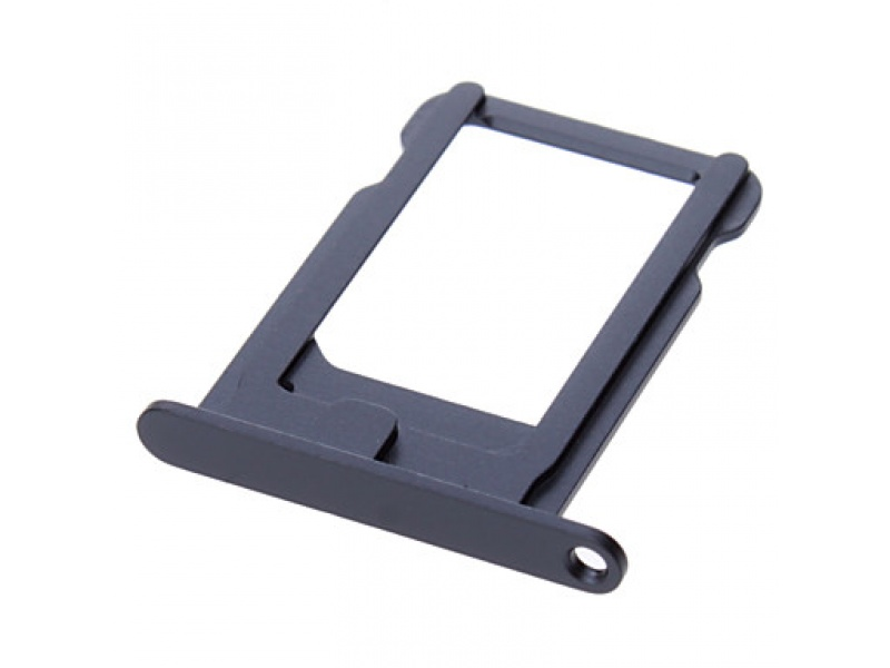 SIM Card Tray Black pro Apple iPhone 5