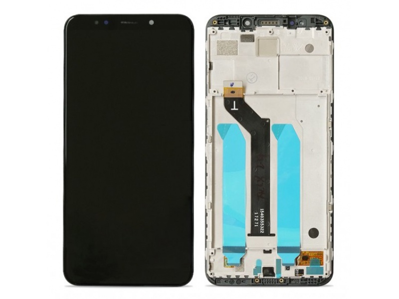 Xiaomi Redmi 5 Plus LCD + Touch + Frame (Separated) - Black (OEM)