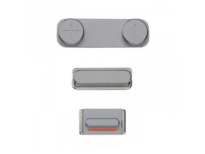 Side Buttons Space Grey pro Apple iPhone 5S