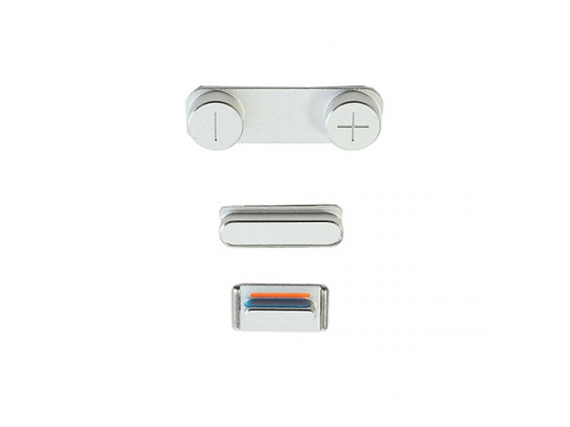 Side Buttons Silver pro Apple iPhone 5S