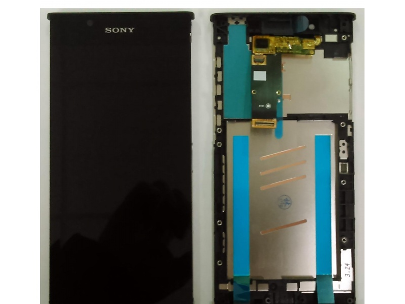 LCD + Touch + Frame (Assembled) pro Sony Xperia L1 Black (OEM)