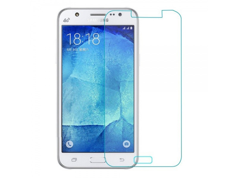 Samsung J7 Screen Protector Glass Transparent