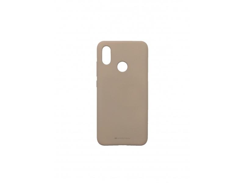 Goospery for Xiaomi Mi 8 Soft Feeling Case Pink Sand