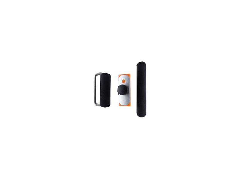 3 pcs set (Volume / Mute Button / Power) Black pro Apple iPad 2