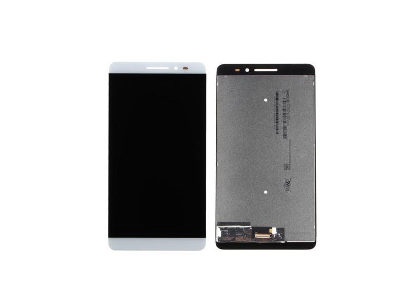 LCD + Touch + Frame (Assembled) pro Lenovo Phab Plus (PB1-770M) White (OEM)