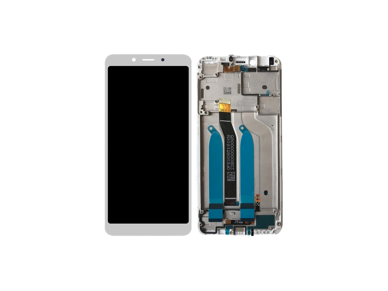Xiaomi Redmi 6 / 6A LCD + Touch + Frame - White (Service Pack)
