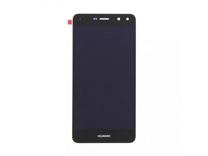 Huawei Y6 2017 LCD + Touch + Frame + Battery - Black (Service Pack)