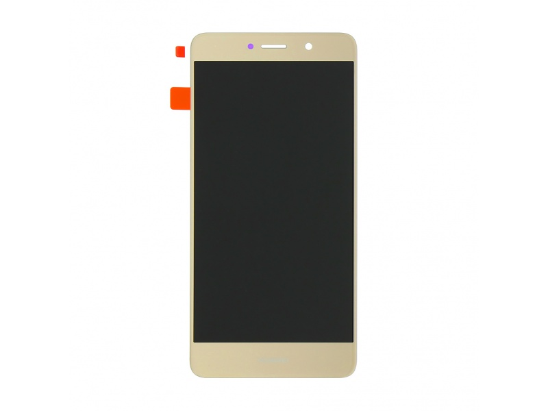 Huawei Y7 LCD + Touch + Frame + Battery - Gold (Service Pack)