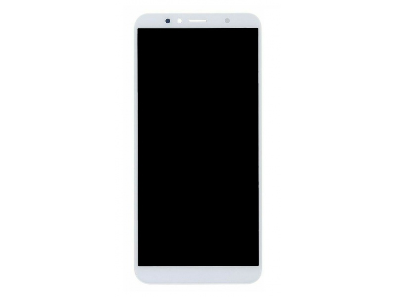 Huawei Honor 7A LCD + Touch + Frame + Battery - White (Service Pack)