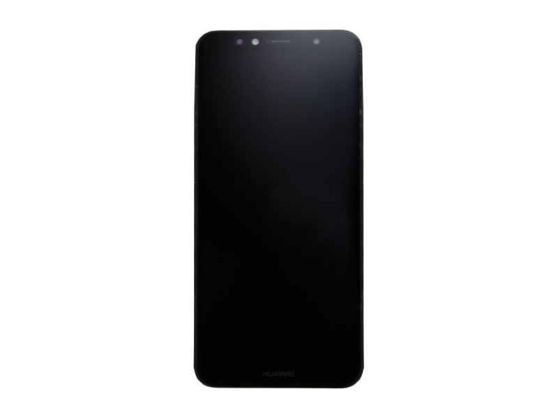 Huawei Y6 2018 LCD + Touch + Frame + Battery - Black (Service Pack)