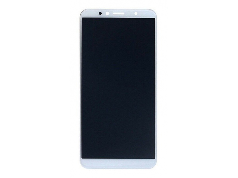 Huawei Y6 2018 LCD + Touch + Frame + Battery - White (Service Pack)