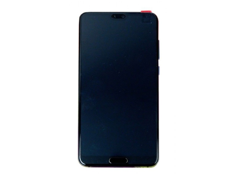 Huawei P20 Pro LCD + Touch + Frame + Battery - Blue (Service Pack)